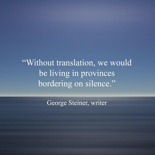 translation qoute