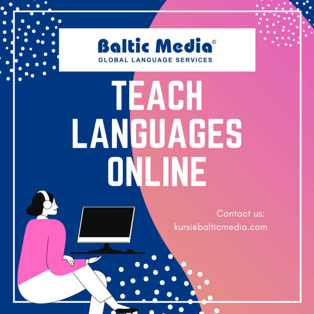 Work From Home! Teach Languages Online